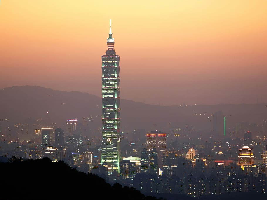 taipei 101 tower taiwan
